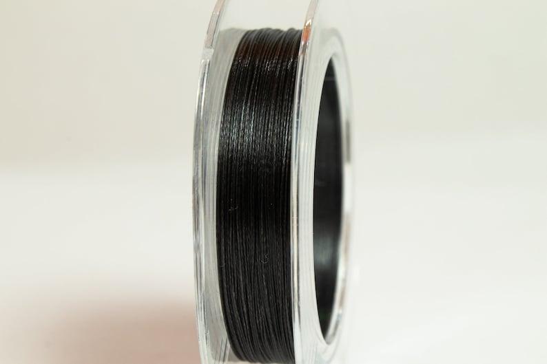 Miyuki Dura-line 0.15mm Smoke Beading Thread #CDA020