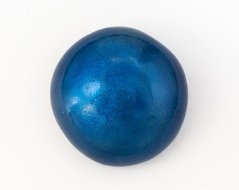 29mm Pearly Navy Blue Cabochon #UP549