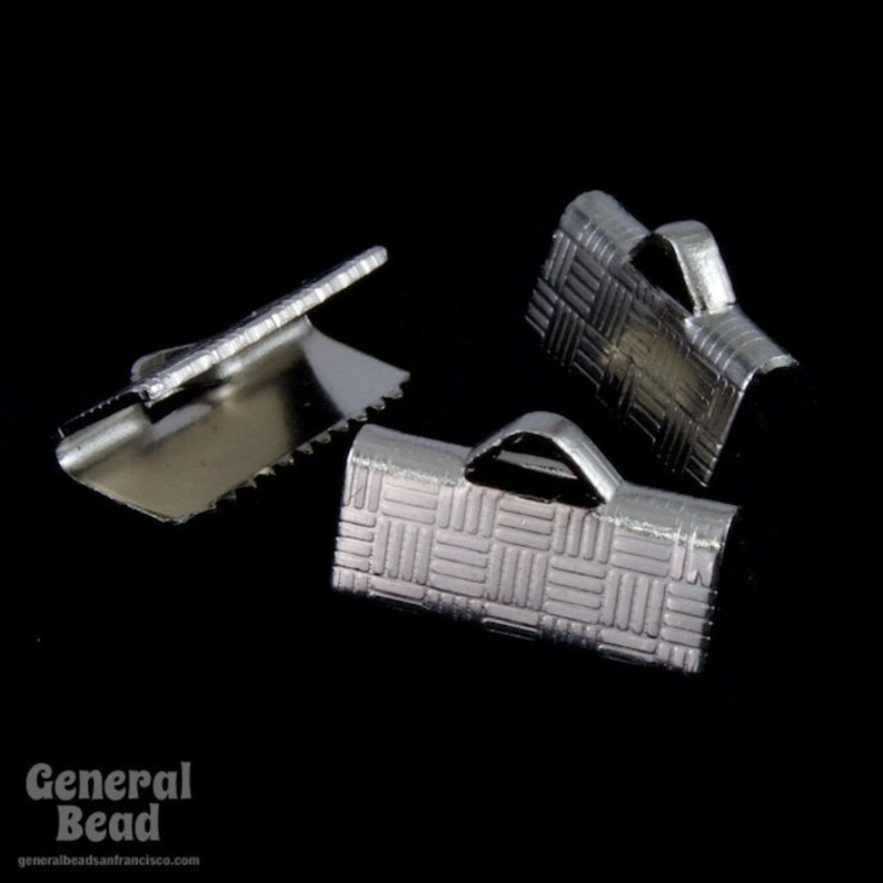 1//2 Inch Silver Tone Bar Clamp #MFB024