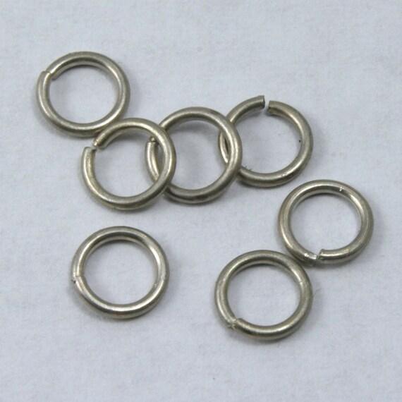 6mm Antique Copper Jump Ring 21 Gauge #RJB026