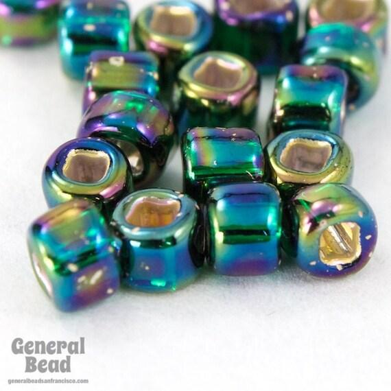 40 Gram 6//0 Crystal AB Japanese Seed Bead #JKF002