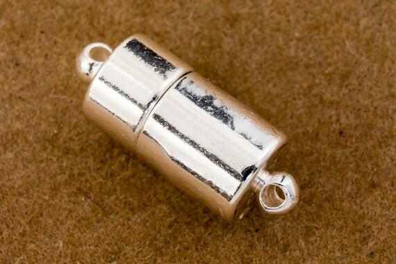 17mm Silver Barrel Clasp #CLB004