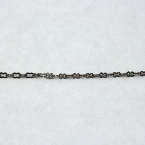 Gunmetal 2mm x 1mm Delicate Cable Chain CC180
