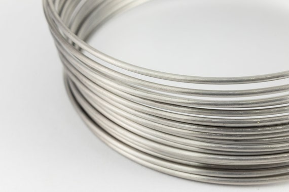 0.8mm 20 gauge 19.7 Feet  Silver Plated Wrapping Wire