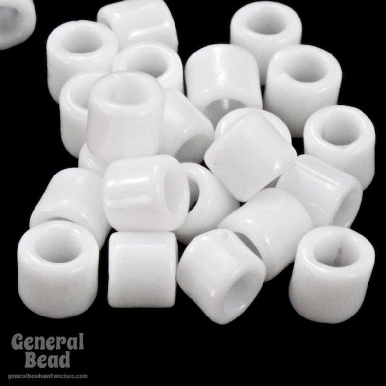 DBL200-80 Opaque Chalk White Miyuki Delica Beads