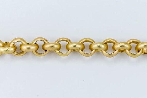 Antique Copper 3.5mm Rolo Chain #CC144