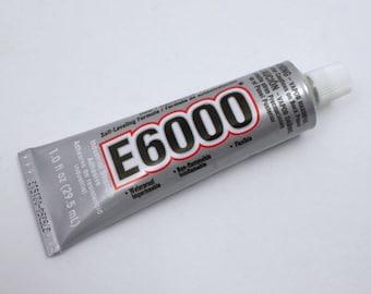 E-6000 Adhesive (3.7 oz, 1 oz, .18ml)