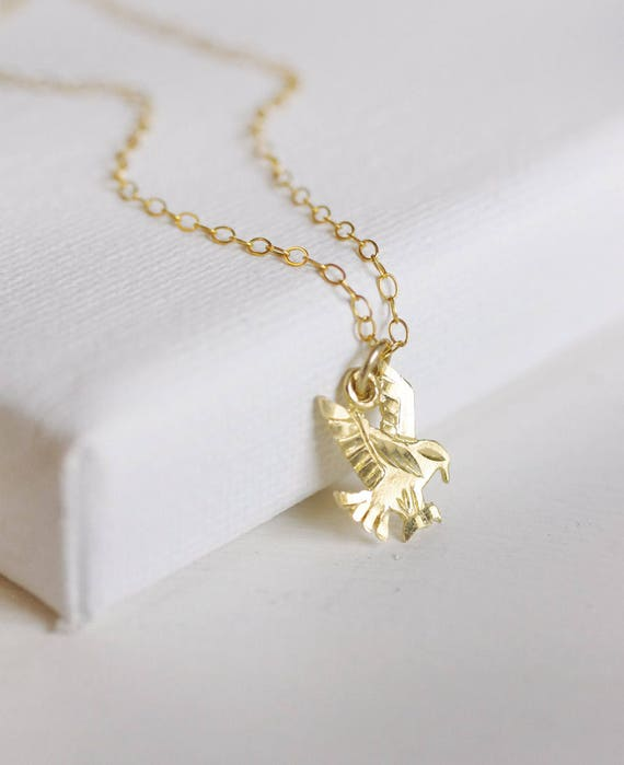 10k or 14k Two-Tone Gold Cute Petite Hibiscus Flower Charm Pendant