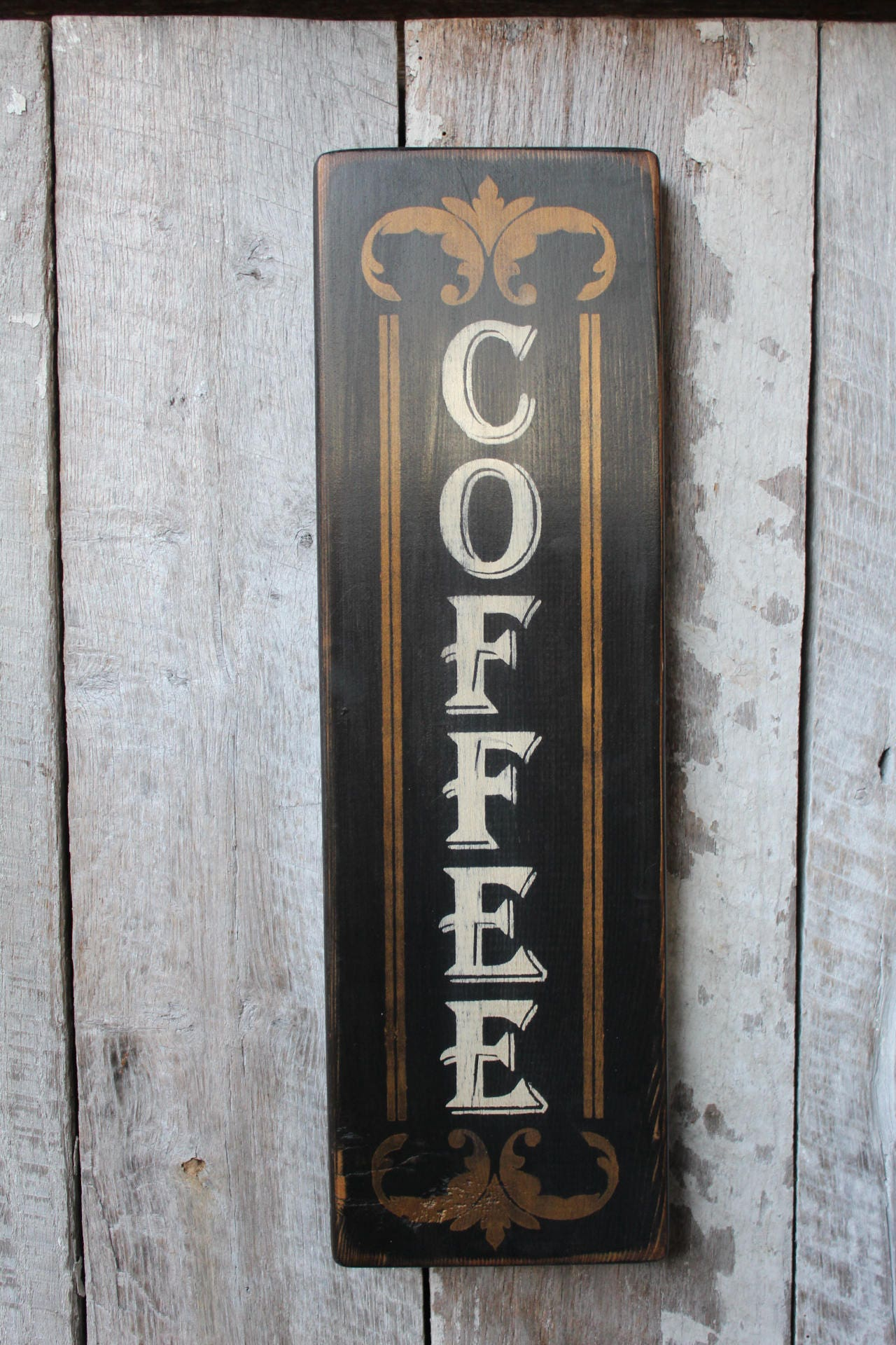 coffee wood sign primitive wood sign kitchen decor coffee