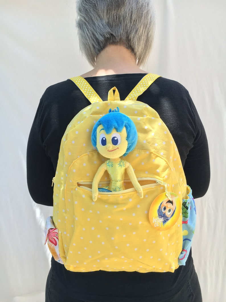 Pixar's Inside Out Joy backpack image 0