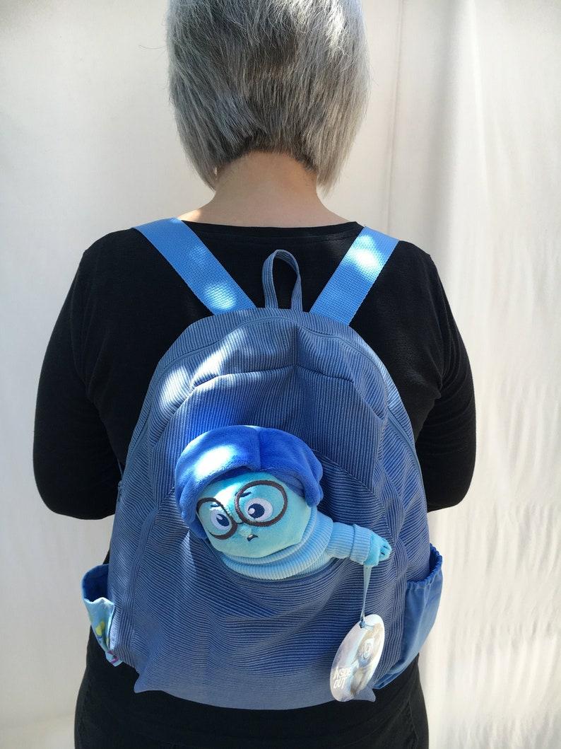 Pixar's Inside Out Sadness backpack image 0