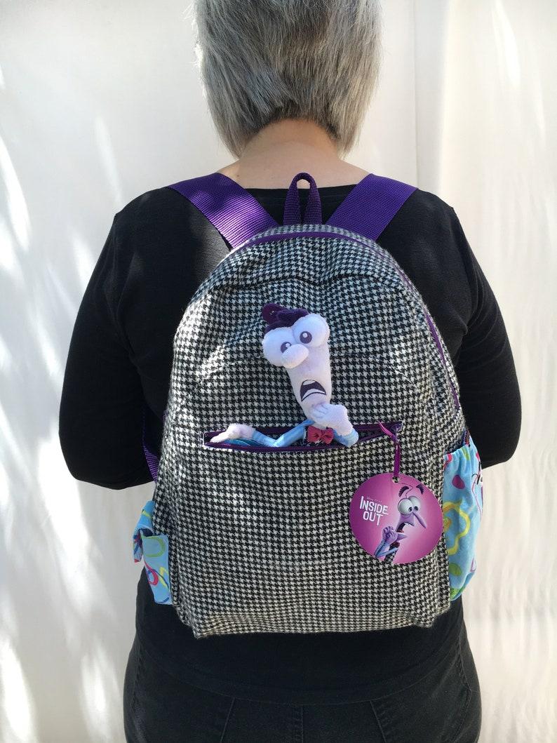 Pixar's Inside Out Fear backpack image 0