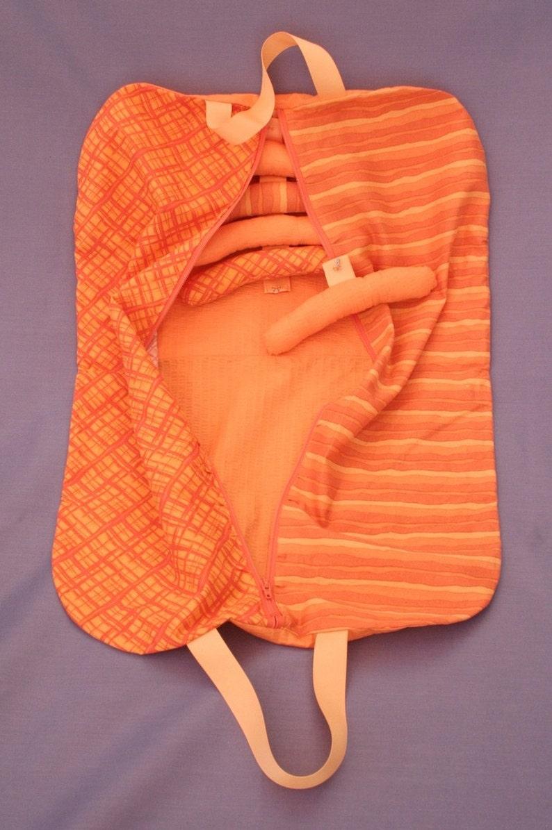 Orange Cutie  doll's garment bag image 0