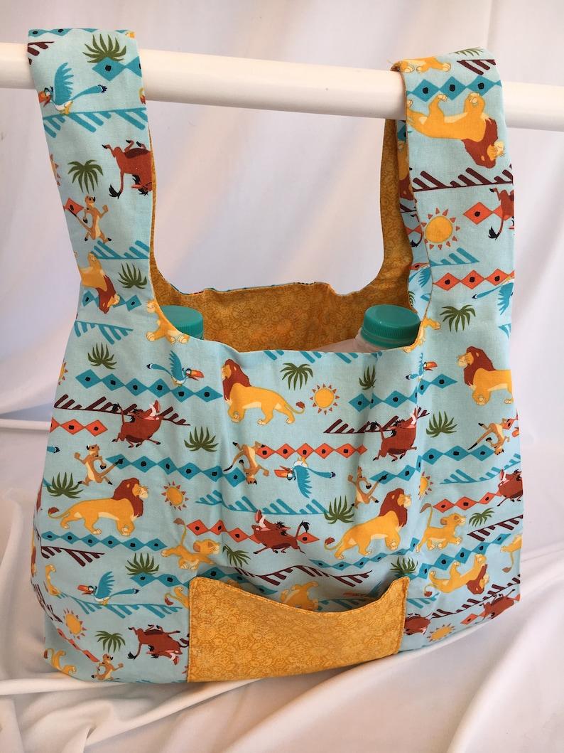 Hakuna Matata  reusable grocery bag image 0