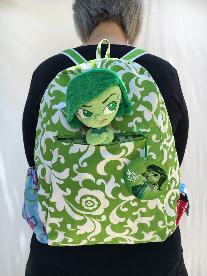 Pixar's Inside Out Disgust backpack image 0