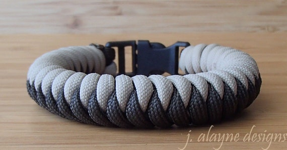 Paracord Survival Bracelet-Snake Knot-Adjustable 9 Colors 28-36 KABBALAH
