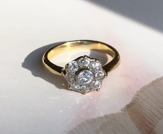 .33 Ct Carré Taille Princesse Diamant naturel boucles d/'oreilles Or 14K