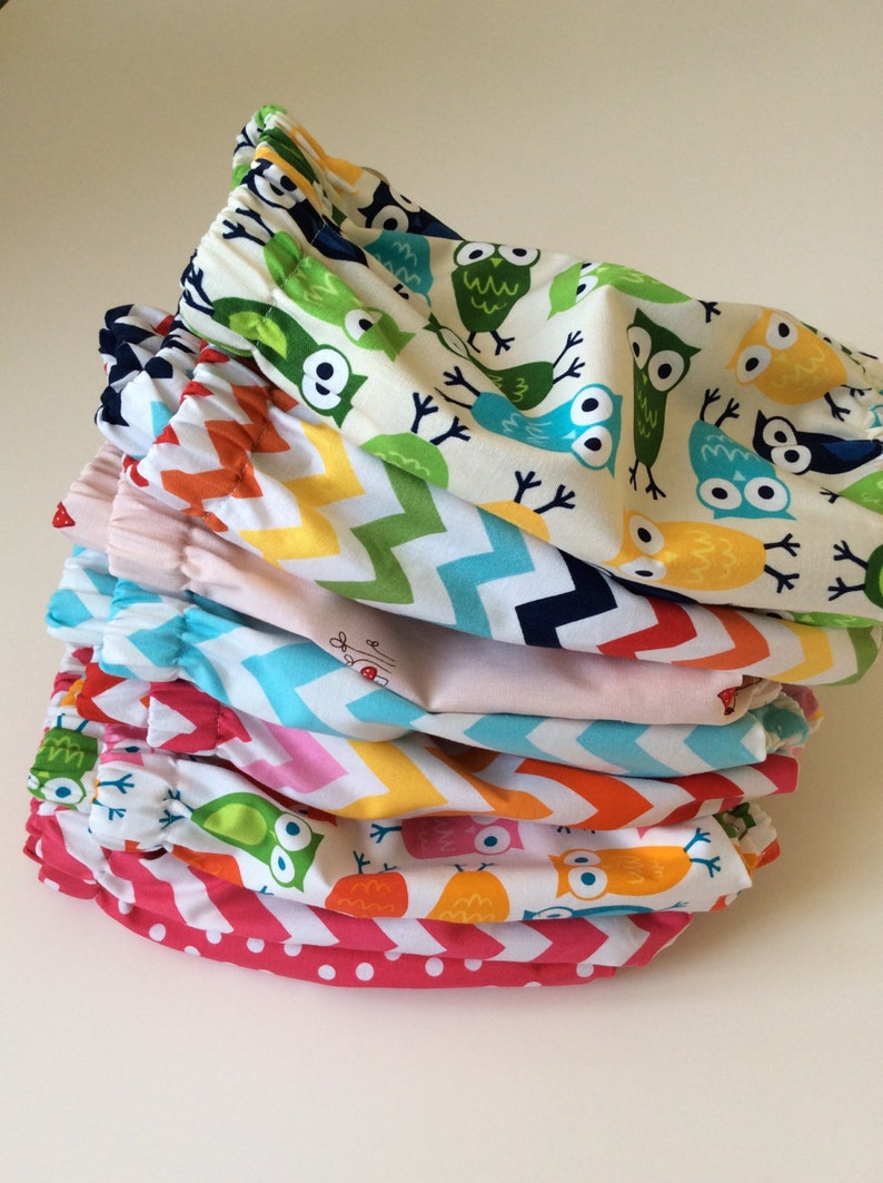 BLOOMERS BUBBLE SHORTS Turquoise Chevron Girl or Boy Sizes 3 months 2 yrs.