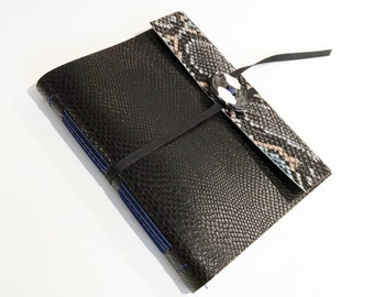 Handmade Journal Sketchbook Blue