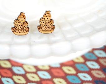 earrings. (post)