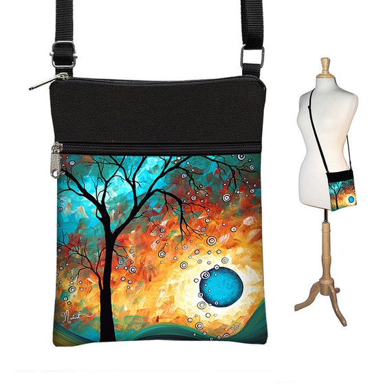 1ee4dffc4c03 MadArt Sling Bag Shoulder Purse Cross Body Bag Small Travel