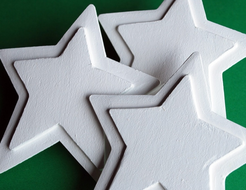 White Star Quilt Clips image 0