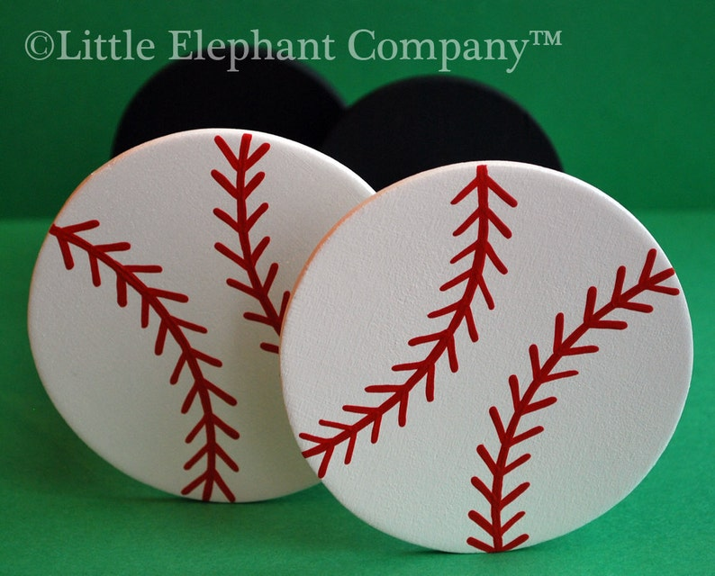 Baseball Curtain Holdbacks image 0