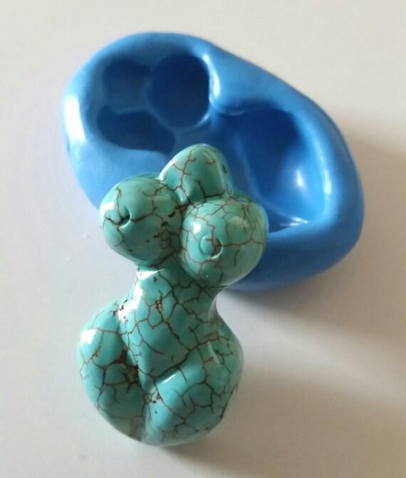 ORNATE BUDDHA Silicone Mold Mould 72 mm Spiritual Polymer Clay Sugarcraft Icing Spiritual Jewellery Making Decorate Cabochon