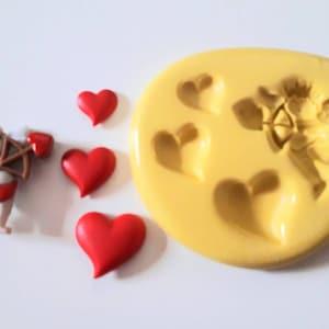 Holly Feuilles Moule en silicone 25//40 mm Noël Sucre Gâteau Décorer fimo