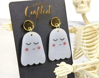 Shy Ghost Earrings