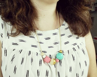 DIY Wooden Bead Necklace Kit