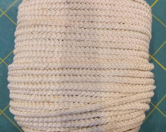 cream size 20 romanian point lace cord vintage thread