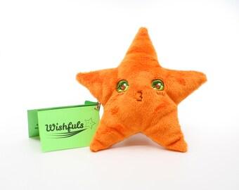 Orange Wishful Pouch- Kissy Face