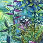 A4 Tropical Art Print, Giclee Print, Fancy Bird Print