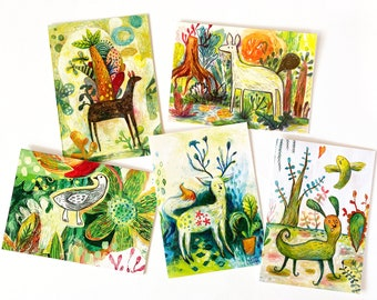 SALE - Oddfellows Card Pack - 5 Gift Cards