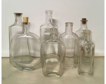 Instant antique bottle collection - lot of 7!