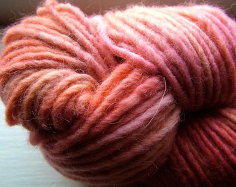 STRAWBERRY KISS - (80 yards) - Supersoft Naturally Dyed Bulky Luxe Yarn Hank