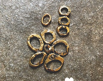 Gold Flower Pendant Kit - DIY JEWELRY