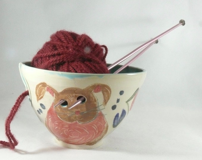 Yarn Knitting Bowls