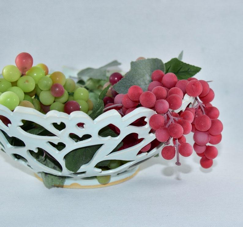 Love Bowl Ceramic Fruit Bowl Table Centerpiece. Ceramics and image 0