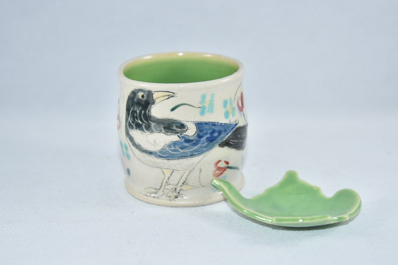 Magpie Wine Glass. Espresso Cup Tea Cup image 0