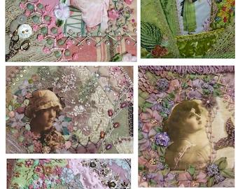 Digital Crazy Quilt Image No3