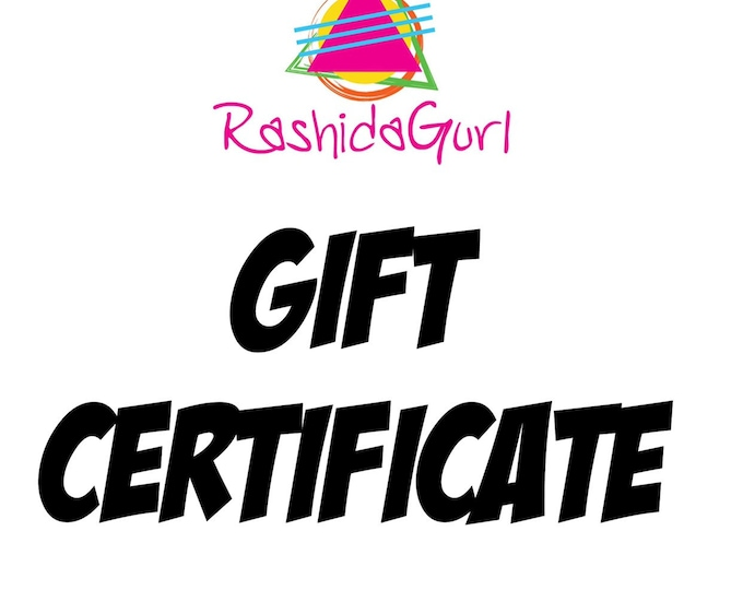 Featured listing image: Gift Certificate E-CARD *via email