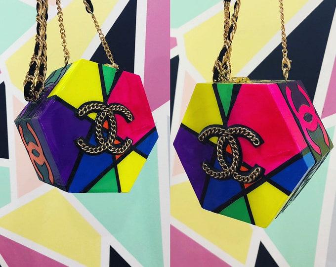 Faux Heaux mini purse