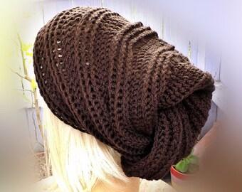 African Head Wrap, Crochet Hat Womens Hat Trendy, Crochet Head Scarf Turban Hat, African Gele, Coffee Brown Hat, Gele Womens Turban