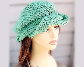 a301262a91b Slouchy Beanie Hat Cotton Hat Summer Hat