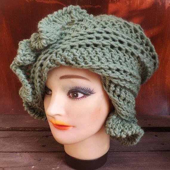 Hat Crochet Pattern 1920s Cloche Hat Pattern Cloche Pattern Etsy