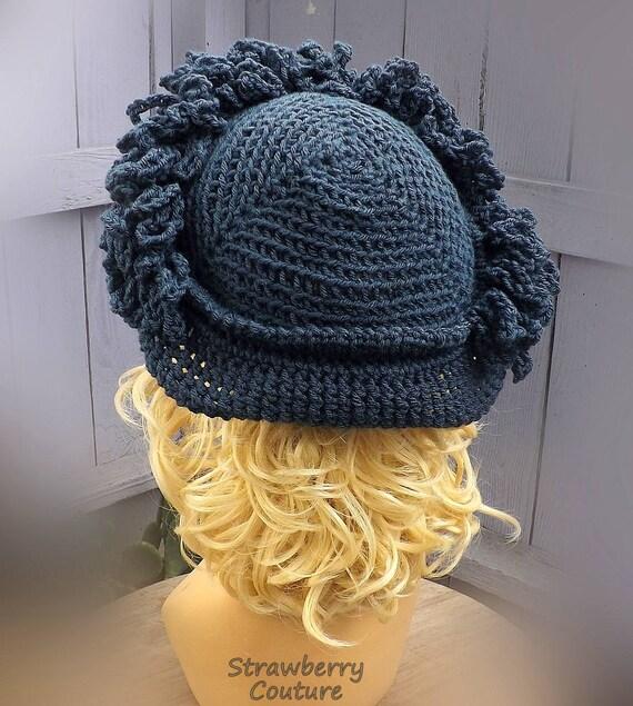 Linda Crochet Hut Glockenhut Cloche Hut häkeln Cloche | Etsy