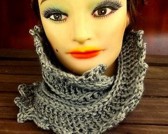 Crochet Pattern, Crochet Scarf Pattern, Infinity Scarf Pattern Crochet Cowl Pattern, Lauren Mobius Crochet Pattern