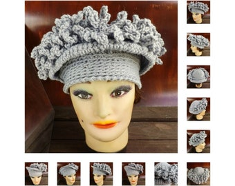 Crochet Patterns for Women, Linda Cloche Hat, Chemo Hat for Cancer Patients